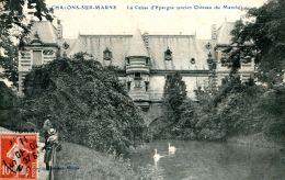N°51044 -cpa Chalons Sur Marne -la Caisse D'épargne- - Banques