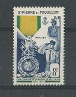 SPM - YVERT N° 347 ** - COTE = 18.4 EUROS - - St.Pedro Y Miquelon
