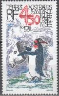 TAAF 2004 Yvert 403 Neuf ** Cote (2015) 18.00 Euro Dessin Humoristique Manchot Avec Masque D'éléphant De Mer - Terres Australes Et Antarctiques Françaises (TAAF)