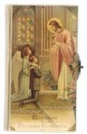 Recueil  Espagnol  120 Pages  De 1 ère Communion  6 Cm  X  11 Cm  X 12 Mm - Religion & Sciences Occultes