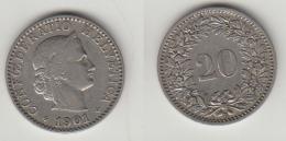 20 RAPPEN 1901 - Suisse