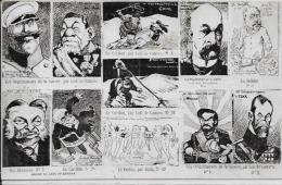 CPA Satirique Caricature Patriotique Kaiser Non Circulé Léal De Camara Guerre Russo Japonaise Tirage Limité - Satiriques