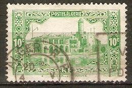 ALGERIE   -  1936 .    Y&T N° 105 Oblitéré.   L' Amirauté à Alger - Usati