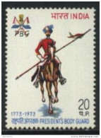 Inde - India 1973 Yvert 379, 200th Anniversary Presidents Bodyguard - MINT MNH **  (Lot - 22 - 020) - India