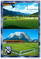 AK Stadion Postkarte ATV-Arena Irdning Steiermark Fußball Österreich AUSTRIA Football Stadium Stadio Estadio Sportplatz - Fussball