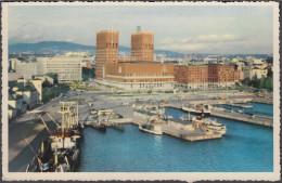 Norway - Oslo - Harbour - Sea-front - Ships - Frachter - Norvegia