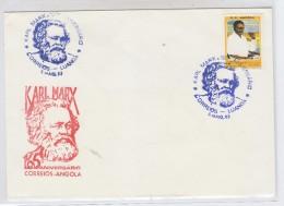 Angola KARL MARX FDC 1983 - Angola