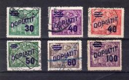 1926  Surchargé Allégorie Y 41 -46 Complet TB - Postage Due