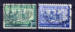 Jugoslawien Nr.348/9         O  Used        (364) - Gebraucht