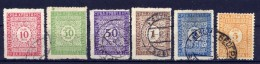 Jugoslawien Porto Nr.53/8        O  Used        (370) - Portomarken