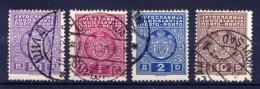Jugoslawien Porto Ex.Nr.64/8 I        O  Used        (373) - Portomarken