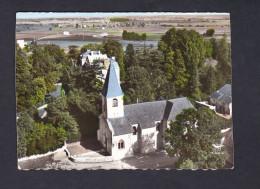 CPSM En Avion Au-dessus De ALLEREY (71) Eglise Et Chateau ( Vue Aerienne LAPIE 4k) - France