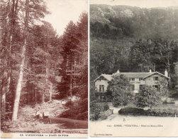 VIZZAVONA - 2 CPA - Hotel Du Monte D' Oro - Foret De Pins  (91402) - France