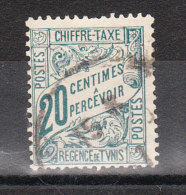 TUNISIE YT TAXE 30 Oblitéré - Tunisie (1888-1955)