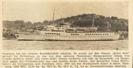 Hamburg Hat Ein Zweites Seebäderschiff Erhalten   -  Druck , 1958 - Sin Clasificación