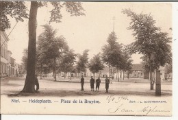 Niel - Heideplaats - Place De La Bruyère 1904 (Geanimeerd) - Niel