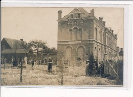 BELGIQUE : MACHELEN  - CARTE PHOTO - Cimetière Dans Le Cloître De L'église - Très Bon état - Machelen