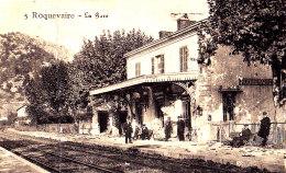 13 /  ROQUEVAIRE / LA GARE  / NOYER EDIT / PAS COURANTE - Roquevaire