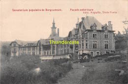 CPA SANATORIUM POPULAIRE DE BORGOUMONT FACADE - Stoumont