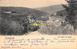 CPA TROIS PONTS LE CHEMIN DU DIABLE  NELS SERIE 20 NO 51 - Trois-Ponts