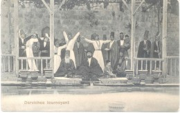 ALEPPO ALEPO SIRIA SYRIE SYRIA DERVICHES TOURNOYANT CPA EDITEUR K. MISSIRLIAN 1900s TBE DOS DIVISE UNCIRCULATED - Syrië