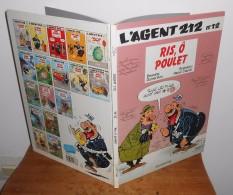L´agent 212.  Ris, Ô Poulet. N° 12. 1990. - Agent 212, L'