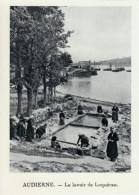 1930 - Héliogravure - Audierne (Finistère) - Le Lavoir De Loquéran - FRANCO DE PORT - Vieux Papiers