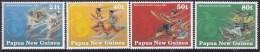 PAPUA NEW GUINEA 1990 Sth Pacific Games Sc 771-74 Mint Never Hinged - Papua-Neuguinea