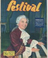 Revue Festival No 191 Grazilla Sciutti Louis Jourdan Le Cinéma Mexicain  1er Trimestre 1953 - Revistas