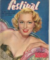 Revue Festival No245 Eleanor Parker Pier Angeli 1er Trimestre 1954 - Revistas