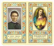 Calendarietto 1974 Salesiani Di Bologna - Retro San Giovanni Bosco - B.5 - Santini