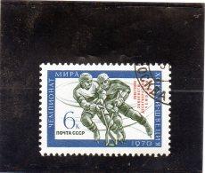 B - 1970 Russia - Campioni Del Mondo - Hockey (su Ghiaccio)