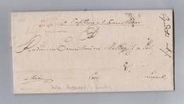 Heimat Polen PRZEMYSL 1831-02-19 Stempel Rot Vorphila Brief Nach Lemberg - Portugal