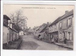 VILLIERS-Saint-FREDERIC : La Grande Rue - Très Bon état - Villepreux