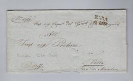 Heimat Kroatien ZARA 1840-07-26 Brief Ohne Inhalt Nach Volta It - Croatie