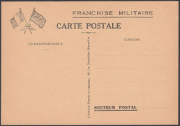 France, French Military Postal Stationery, Mint - Tarjetas De Franquicia Militare