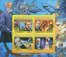 BURUNDI 2015 ** Jules Verne Submarine U-Boot S/S Deluxe - OFFICIAL ISSUE - A1608