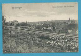 CPA - Chemin De Fer Gare DIEMERINGEN 67 - Diemeringen