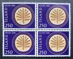Lot 0071 - Iceland - 1981 - ( 32 Pieces) - Mich. 575 - Islande