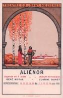 Mézières Théatre Du Jorat, Publicité Pour Aliénor, Litho (491) - Non Classés