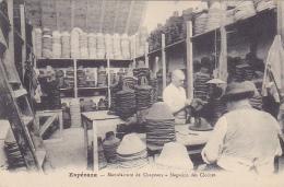 Cpa-11-esperaza--manufacture De Chapeaux-magasins Des Cloches-personnages - France