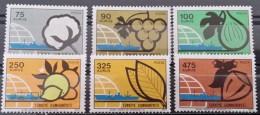 Turkey, 1973, Mi: 2311/16 (MNH) - 1921-... República