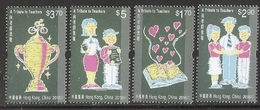 2016 HONG KONG A TRIBUTE TO TEACHERS STAMP 4V - Unused Stamps