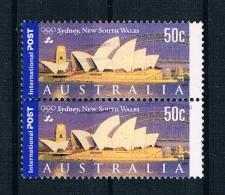 Australien 2000 Mi.Nr. 1928 Senkr. Paar Gestempelt - 2000-09 Elizabeth II
