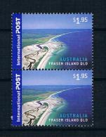 Australien 2007 Landschaften Senkr. Paar Ungestempelt - 2000-09 Elizabeth II