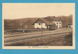 CPSM - Chemin De Fer Gare MONESTIES 81 - Monesties