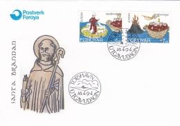 Faroe Islands 1994 FDC Europa CEPT (G47-91) - 1994