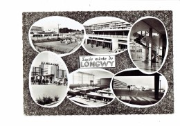 54 - LONGWY - Lycée Mixte - Vue Générale élèves Salle De Classe Chimie Cour Récréation Sport - Longwy