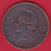 Argentine - 2 Centavos - 1891 - Argentina
