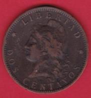 Argentine - 2 Centavos - 1893 - Argentine